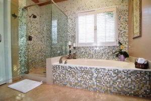 плитка мозаика для ванной комнаты дизайн фото 33