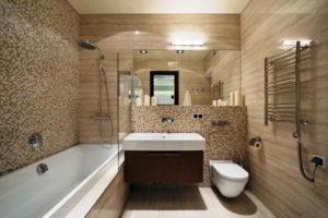 плитка мозаика для ванной комнаты дизайн фото 34