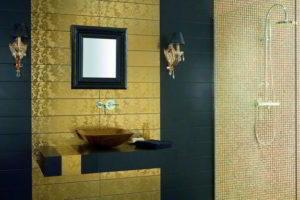 плитка мозаика для ванной комнаты дизайн фото 36