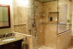 плитка мозаика для ванной комнаты дизайн фото 37