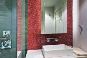 плитка мозаика для ванной комнаты дизайн фото 39