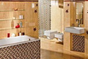 плитка мозаика для ванной комнаты дизайн фото 44