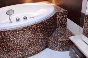 плитка мозаика для ванной комнаты дизайн фото 46