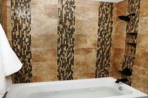 плитка мозаика для ванной комнаты дизайн фото 48
