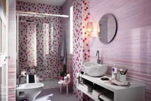 плитка мозаика для ванной комнаты дизайн фото 6