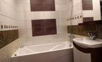 дизайн плитки в ванной комнате маленького размера фото