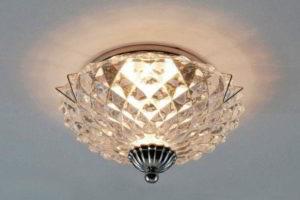 потолочные светильники для ванной комнаты фото 19