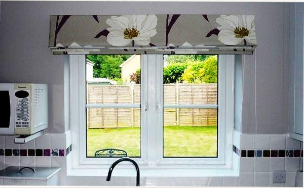 римские шторы на кухню фото 13