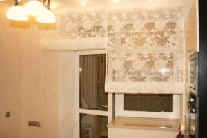римские шторы на кухню фото 28