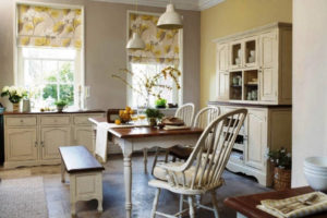 римские шторы на кухню фото 30