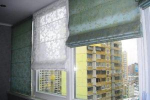 римские шторы на кухню фото 38