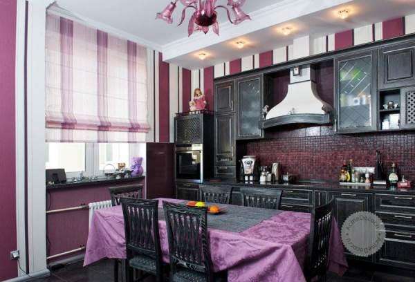 римские шторы на кухню фото 4