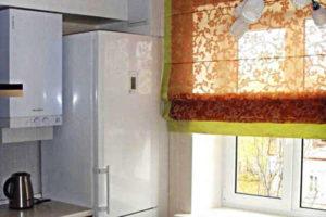 римские шторы на кухню фото 49