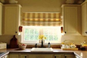 римские шторы на кухню фото 57