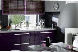римские шторы на кухню фото 67