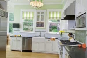 римские шторы на кухню фото 69