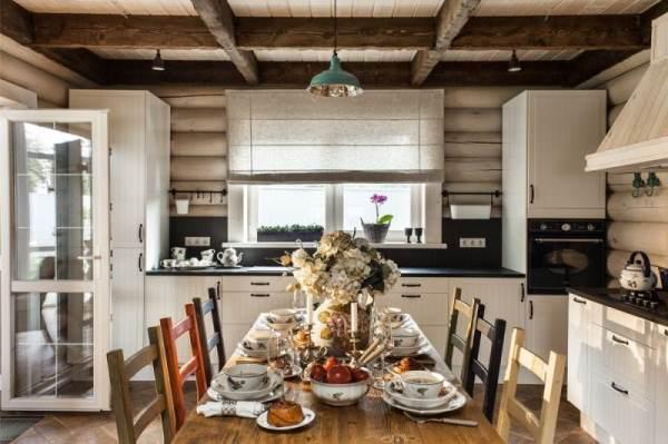 римские шторы на кухню фото 7