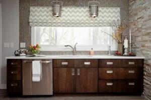 римские шторы на кухню фото 70