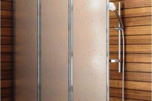 шторки в ванную фото 11