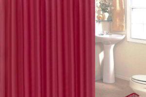 шторки в ванную фото 12