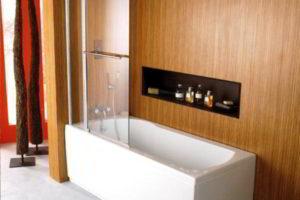 шторки в ванную фото 13