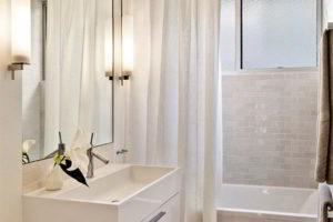 шторки в ванную фото 25
