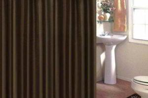 шторки в ванную фото 26