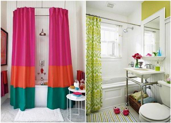 шторки для ванной фото 3