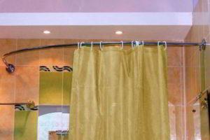 шторки в ванную фото 30