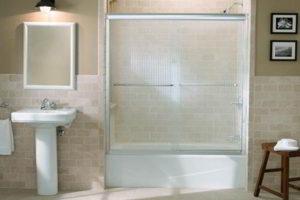 шторки в ванную фото 33