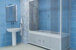 шторки в ванную фото 35
