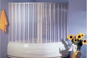 шторки в ванную фото 45