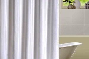 шторки в ванную фото 46