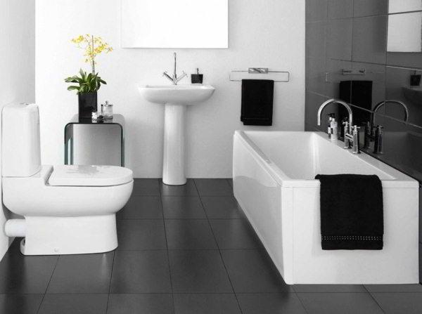 современный дизайн ванной комнаты фото 11