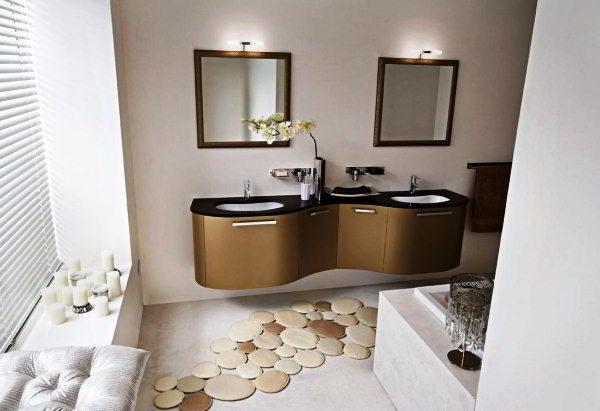 современный дизайн ванной комнаты фото 13