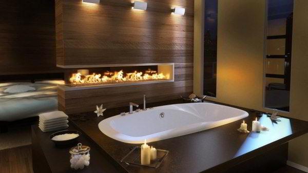 современный дизайн ванной комнаты фото 26