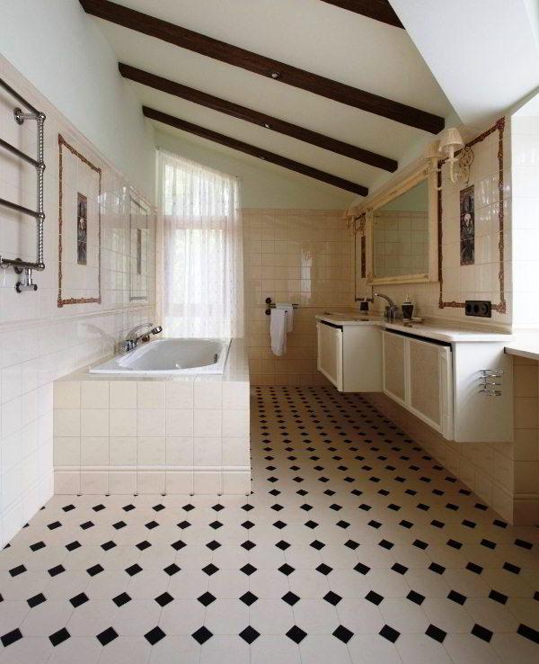 современный дизайн ванной комнаты фото 3