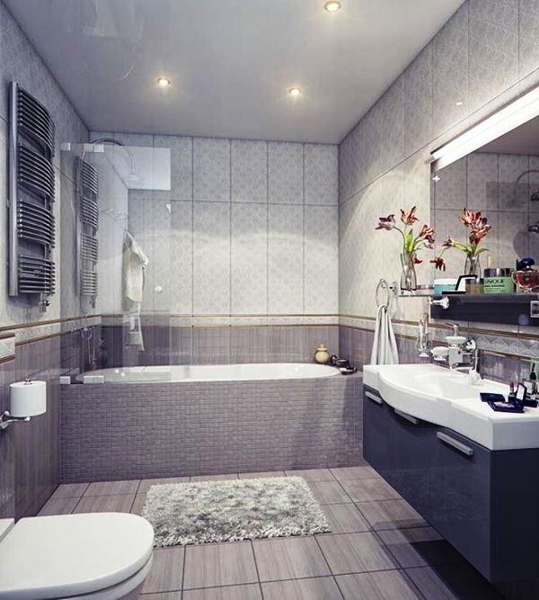 современный дизайн ванной комнаты фото 5