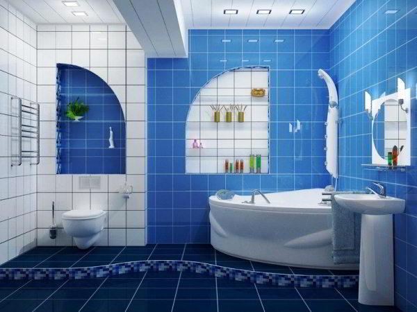 современный дизайн ванной комнаты фото 6