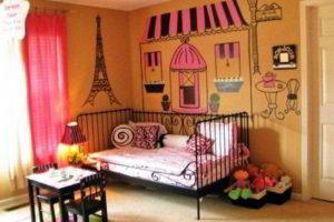 спальня для девочки фото 13