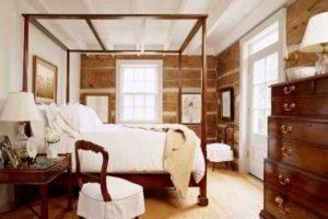 деревянные спальни фото 11