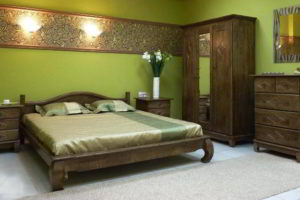 деревянные спальни фото 13