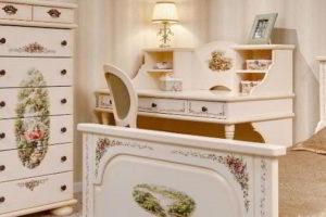 деревянные спальни фото 14