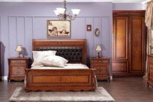 деревянные спальни фото 15
