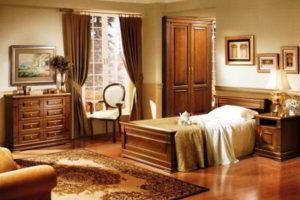 спальня из дерева фото 16