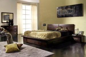 спальня из дерева фото 17