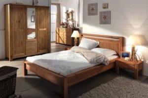 спальня из дерева фото 19