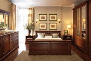 Простые решения для создания уюта: выбираем спальню из массива дерева