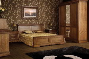 спальня из дерева фото 24