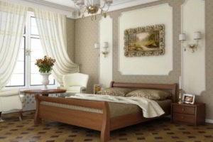 спальня из дерева фото 25